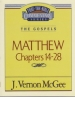 Matthew - Chapters 1-13 - The Gospels - Thru the Bible Commentary Series